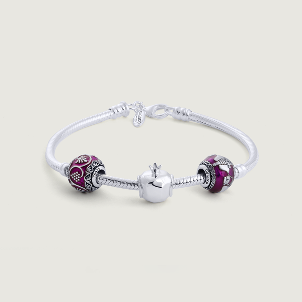 Bracelet with 3 Charms