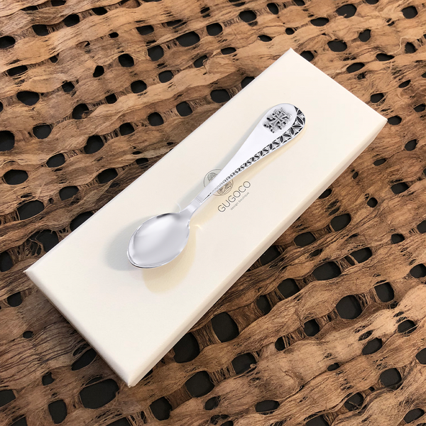 Spoon for Baby with Cross