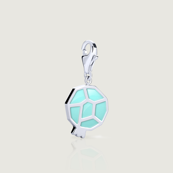 Turquoise Pomegranate Charm