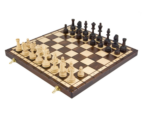 Olympic Folding Chess Set 16 Inch