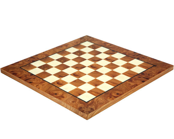 Briarwood and Elmwood 16.75 Inch Luxury Chess Board