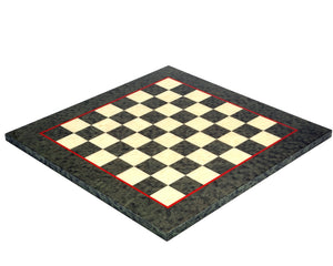 Olive Green Erable and Elm Wood 16.75 Inch Luxury Chess Board