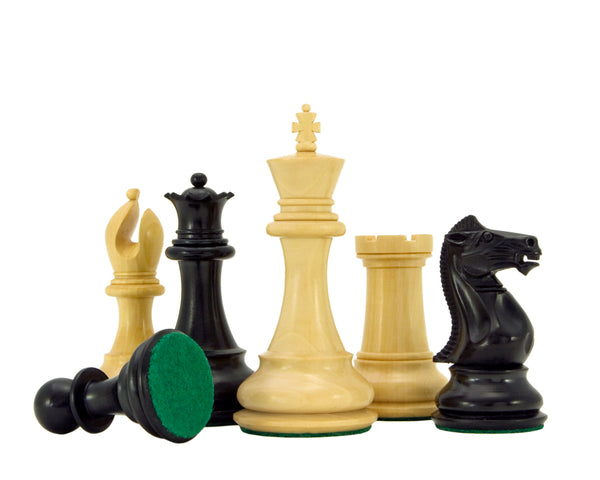Sandringham Ebony Staunton Chess Pieces