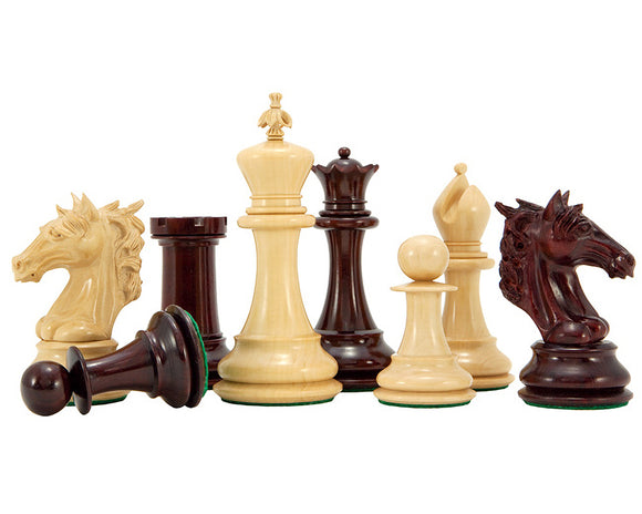 Strasbourg Series Luxury Rosewood Chess Pieces