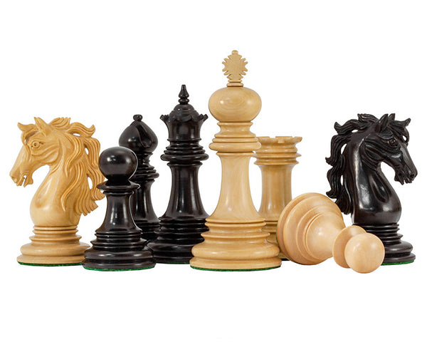 Constantine Luxury Ebony Chess Pieces