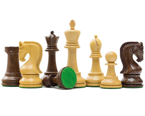 Leningrad Staunton Acacia & Boxwood Chess Pieces