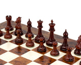 Madrid Rosewood and Briar Luxury Chess Set