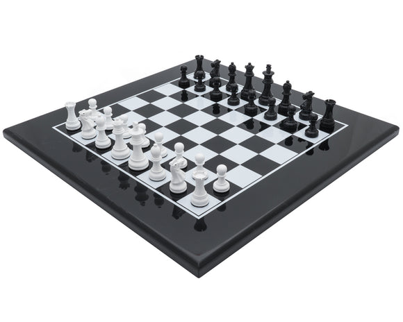 The Monochrome Luxury Chess Set by Italfama