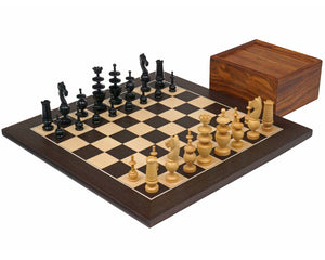 The French Wenge Chess Set