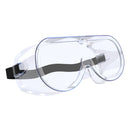 Clear Safety Glasses,Wide-Vision Protective Eyewear