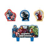 The Avengers Cake Candles