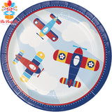 Airplane Dinner Plate
