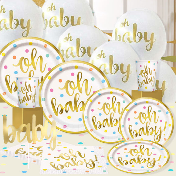 'Oh Baby' Shower Party Pac