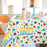 Rainbow Tablecloth
