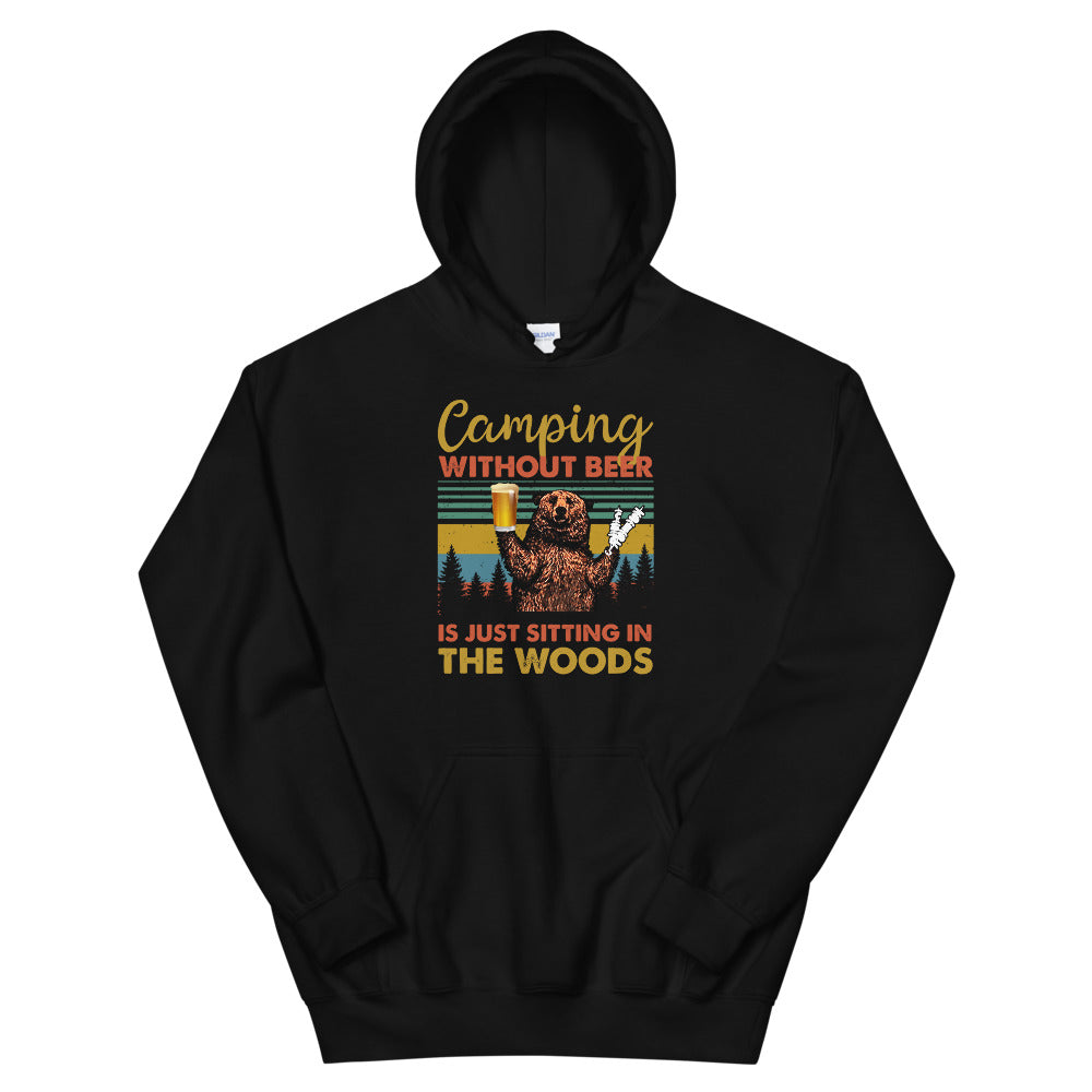 Camping Without Beer 2 Hoodie (Unisex)