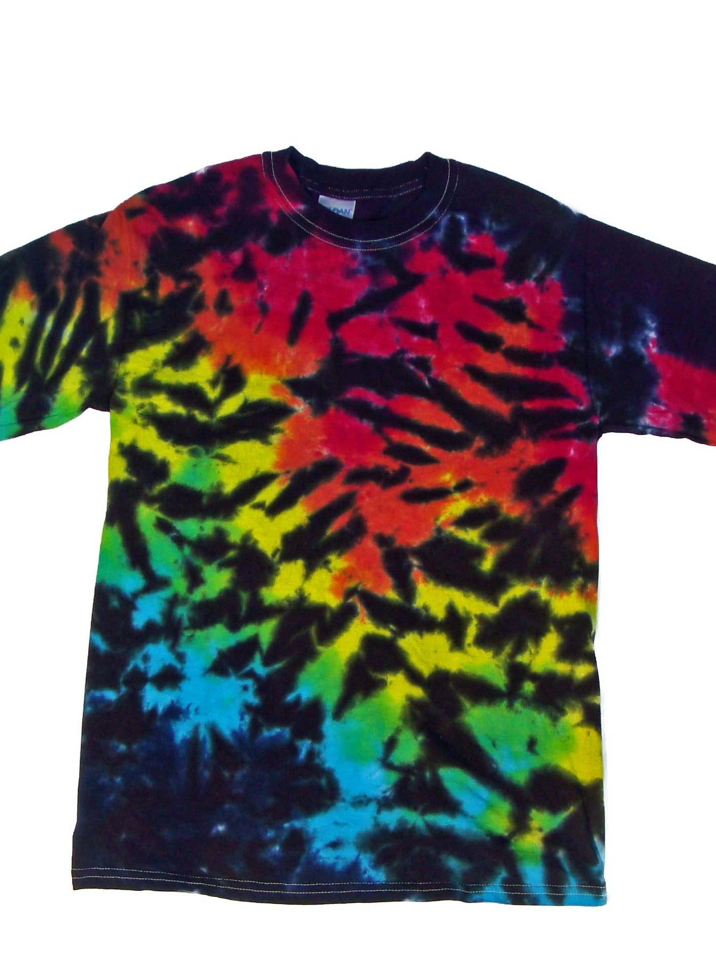 Tiger Print Custom Tie Dye Shirts