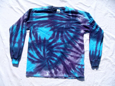 Double Spiral Blues Long Sleeve