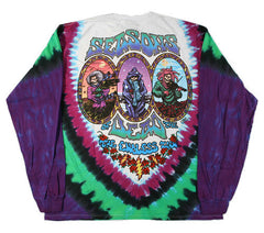 Grateful Dead - Seasons Of The Dead - Long Sleeve Tie Dye T Shirt