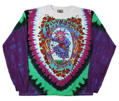 Grateful Dead Seasons Of The Dead Long Sleeve Tie Dye T Shirt
