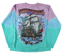 Grateful Dead - Ship Of Fools - Long Sleeve Tie Dye T Shirt