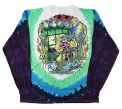 Grateful Dead - Watch Tower - Long Sleeve Tie Dye T Shirt