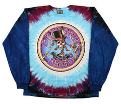 Grateful Dead Queen Of Spades Long Sleeve Tie Dye T Shirt