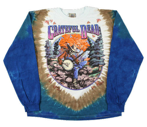 Long Sleeve Grateful Dead Tie Dye Shirt