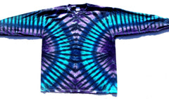 Galactic Highway Long Sleeve Tie Dye T Shirt