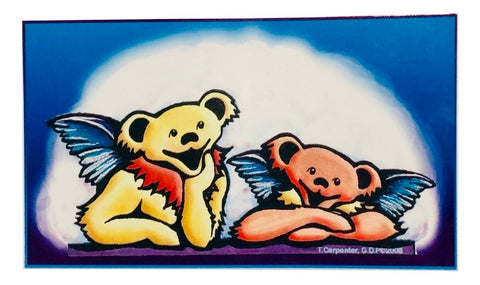 Grateful Dead Angel Bears Indoor/Outdoor Sticker
