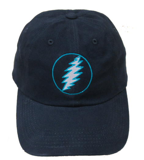 Grateful Dead Lighting Bolt Baseball Cap - Teal