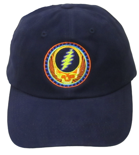 Grateful Dead Orange Sunshine Cap - Navy