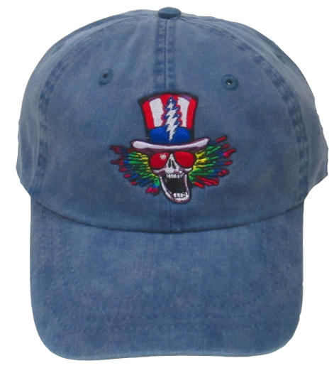 Grateful Dead Psycle Moto Sam Baseball Cap - Blue