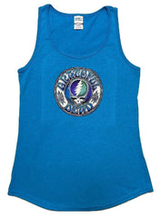 Batik Style Steal Your Face Ladies Tank Top