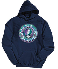 Grateful Dead Batik Style SYF - Hoodie with Pouch- Free Shipping