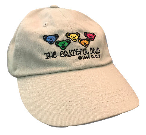 Grateful Dead Dancing Bears Baseball Cap