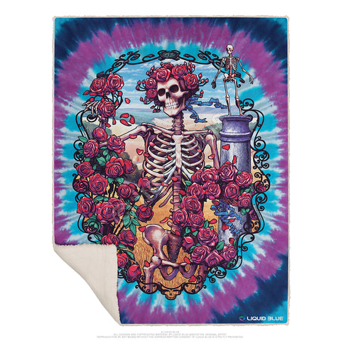 "Grateful Dead Bertha Fleece Throw Blanket 50""x 60"""