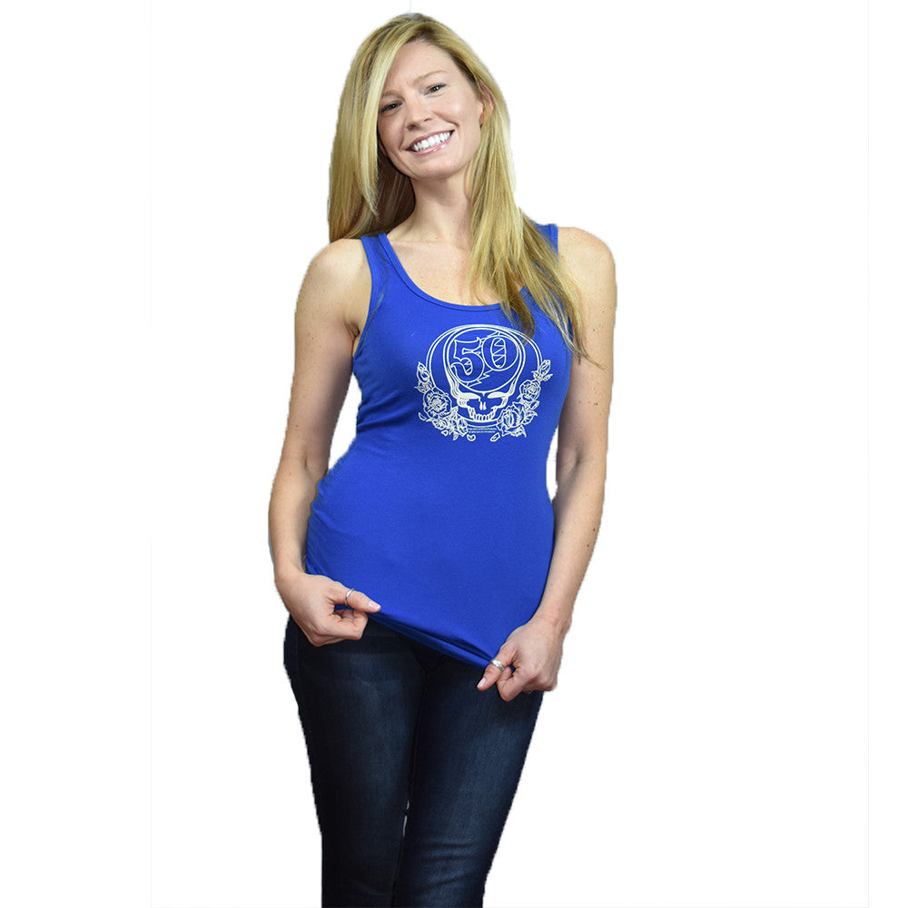 Grateful Dead Womens 50th Tank Top