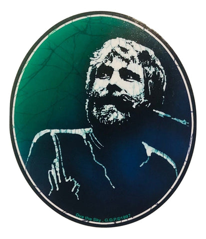 Grateful Dead Brent Mydland Indoor/Outdoor Sticker