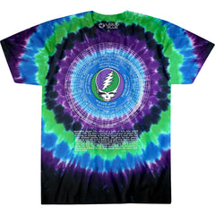 Steal Your Face Calendar  -  2 Sided Tie Dye T-Shirt, Sizes M-2XL