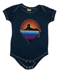 Cats Down Under The Stars Infant Onesie