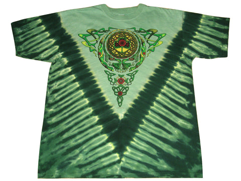 Grateful Dead Celtic Knot Short Sleeve Tie Dye T Shirt