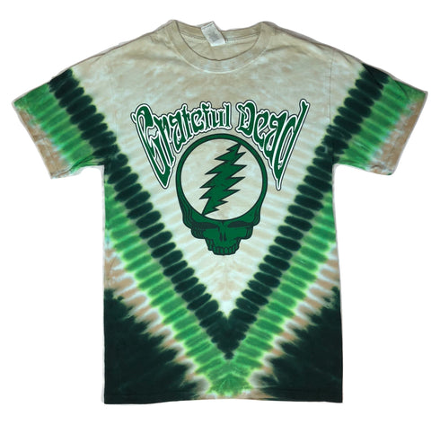 Grateful Dead Countdown Short Sleeve Tie Dye T Shirt