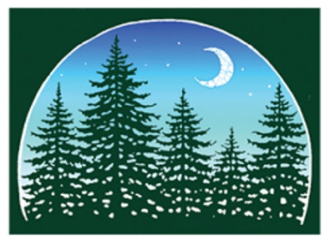 Forest Outdoor Sticker