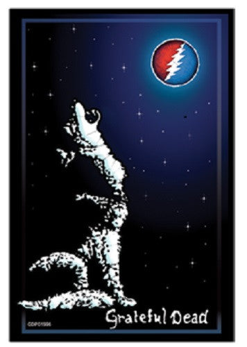 Grateful Dead Wolf Sticker