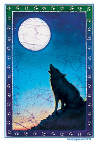 Wolf Outdoor Sticker