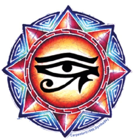 Egyptian Eye Outdoor Sticker