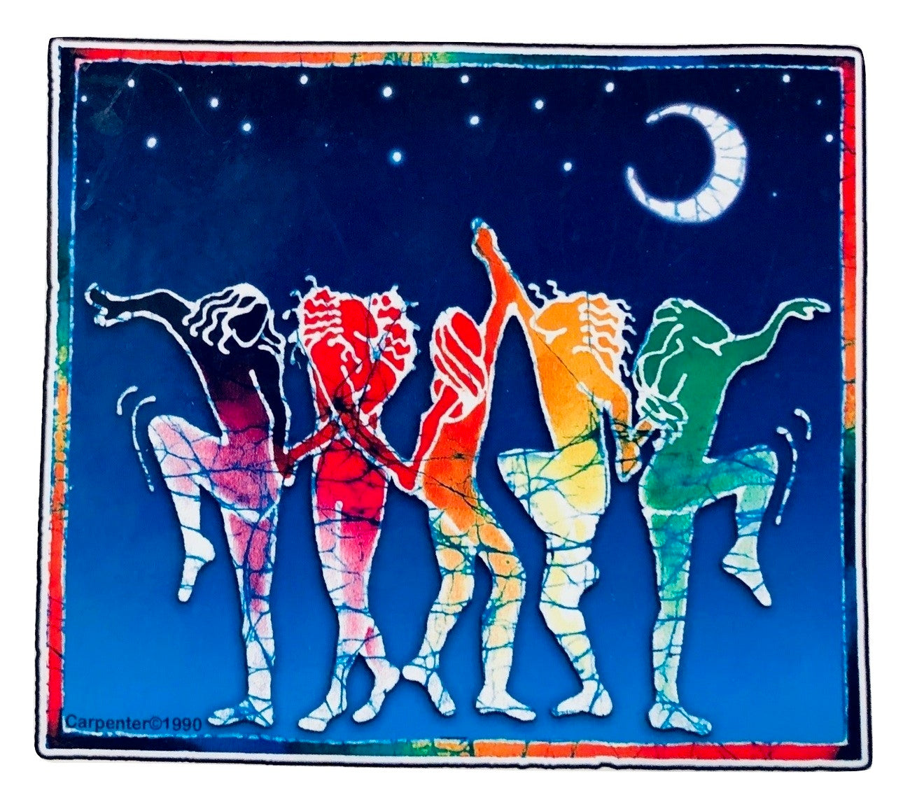 Grateful Dead Dancers Indoor/Outdoor Sticker