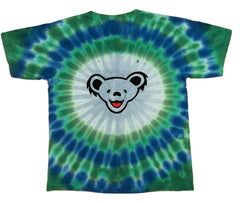 Grateful Dead Flag Bears Youth Tie Dye T Shirt