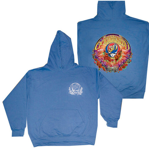 Sale Official Grateful Dead 50th Anniversary Hoodie Free Shipping