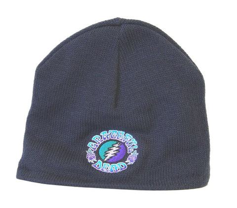 Grateful Dead GD Bolt Navy Beanie Hat